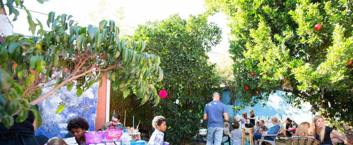 Mid Wilshire large Beautiful Garden, 2 Patios and indoor creative space in Los Angeles Hero Image in Central LA, Los Angeles, CA