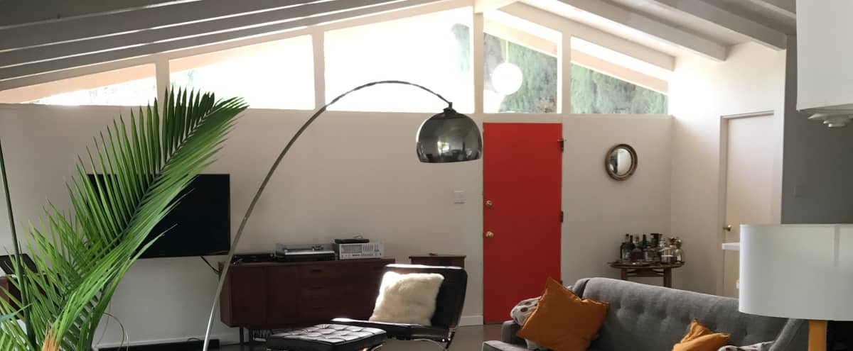 Mid Century Modern Compound With A Pool. Palm Springs Meets LA In Los  Angeles Hero