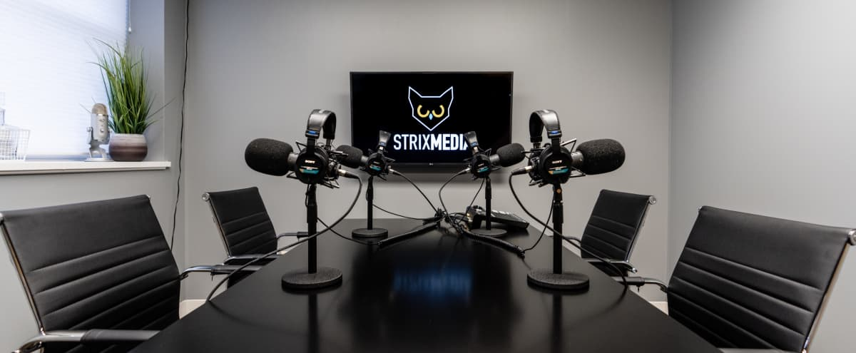 Podcast Studio in Downtown Morristown in Morristown Hero Image in undefined, Morristown, NJ