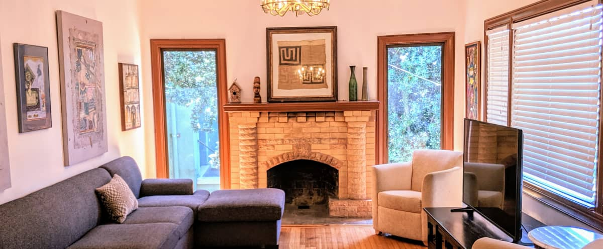 Ultra Private, Nicely Furnished Craftsman House in Oakland Hero Image in Ivy Hill, Oakland, CA