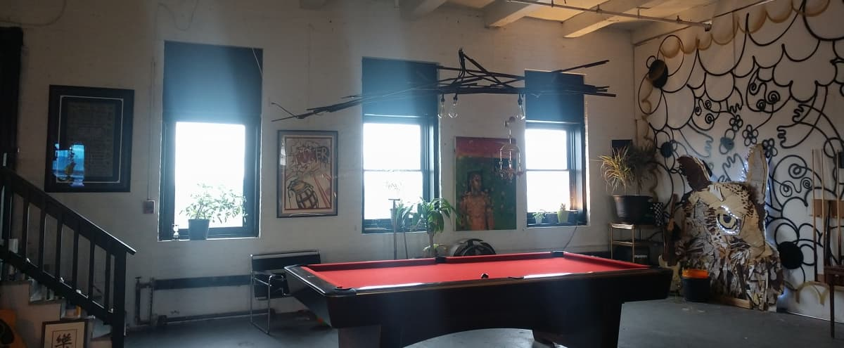 Station North Warehouse Loft with a View in Baltimore Hero Image in Greenmount West, Baltimore, MD