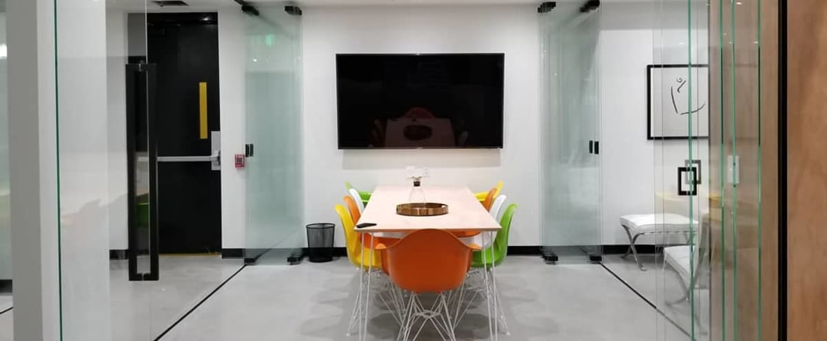 Fully Equipped 9 Person High-End Meeting Room | #3 in Denver Hero Image in East, Denver, CO