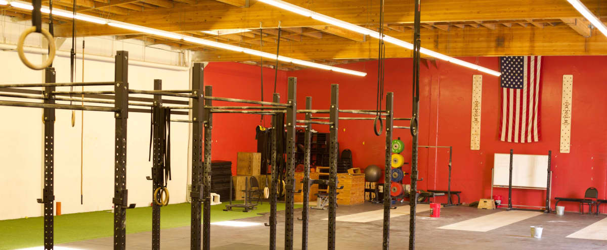 Art District- Crossfit Gym, huge open gym space. private enclosed parking lot in LOS ANGELES Hero Image in Central LA, LOS ANGELES, CA