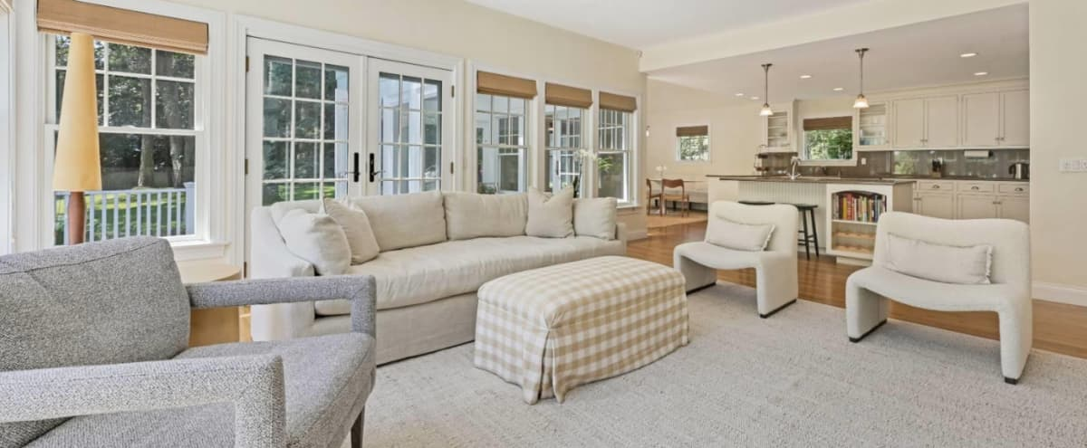 Waterfront Oasis with lots of natural light and modern decor in Water Mill Hero Image in undefined, Water Mill, NY