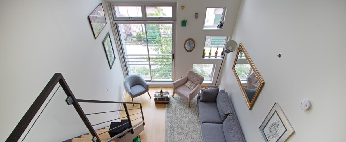 Dope Natural Light Filled Studio Loft in Williamsburg in Brooklyn Hero Image in Williamsburg, Brooklyn, NY
