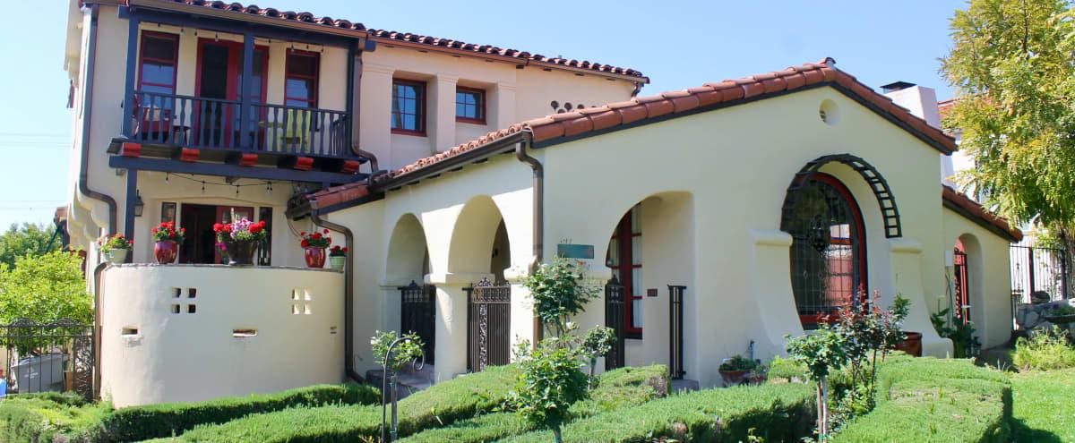 Stunning Rustic/Gothic Style Home in Glendale Hero Image in Glenwood, Glendale, CA