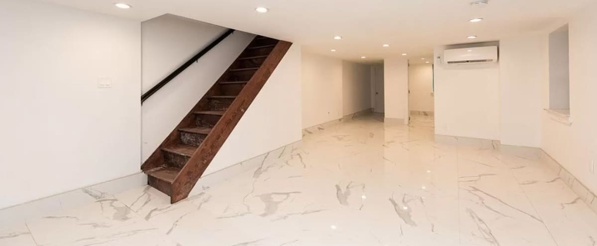 Beauty In The East - Modern, Luxurious Duplex with Opened Lower Level Perfect for Intimate Gatherings in Brooklyn Hero Image in East New York, Brooklyn, NY