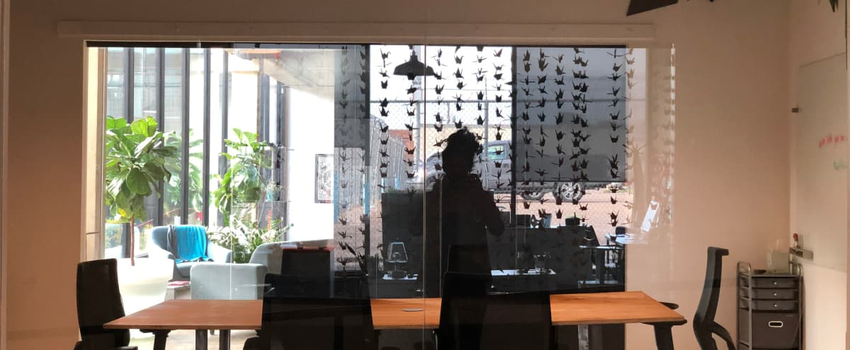 Creative 8-Person Meeting Room With Natural Light in Dallas Hero Image in South Dallas, Dallas, TX