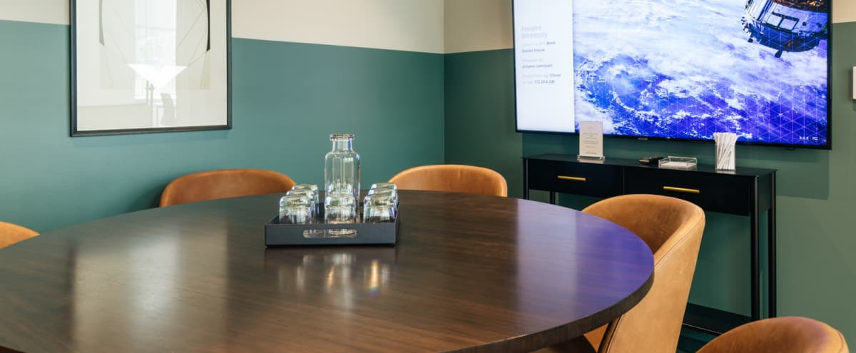 Downtown 6 Person Stylish Conference Room in Philadelphia Hero Image in Logan Square, Philadelphia, PA