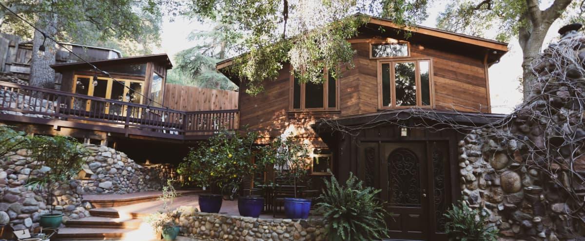 Topanga Mountain Treehouse in topanga Hero Image in Old Topanga, topanga, CA