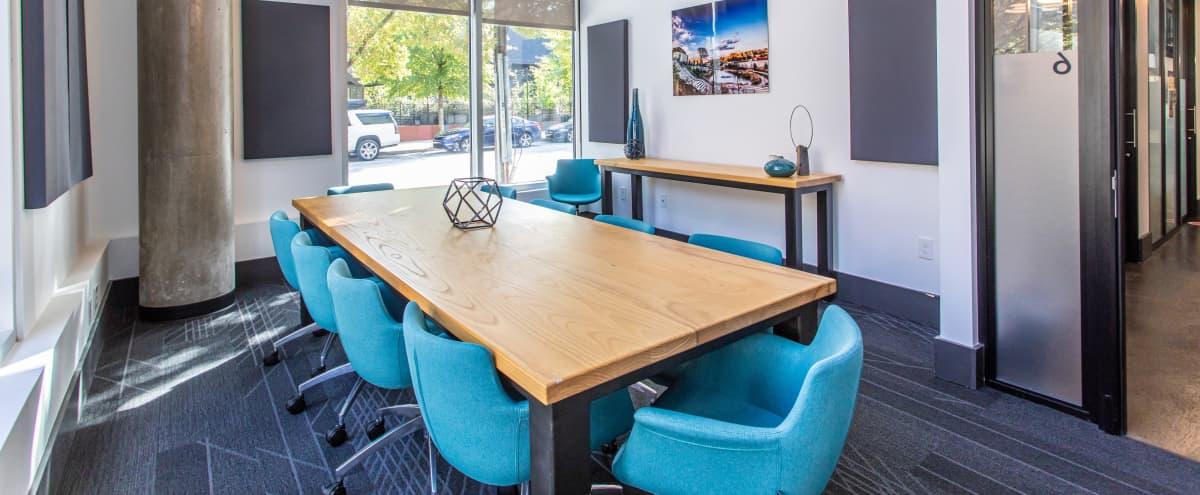 Meeting Room for 10 * Across from Ponce City Market * in Atlanta Hero Image in Old Fourth Ward, Atlanta, GA