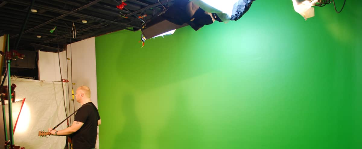 Green Screen Studio and Sound Stage in Lower Manhattan in New York Hero Image in Manhattan, New York, NY