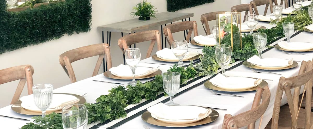 Chic Elegant Parisian-Style Space with Indoor-Garden Boho Whimsical Vibes in Burbank Hero Image in undefined, Burbank, CA