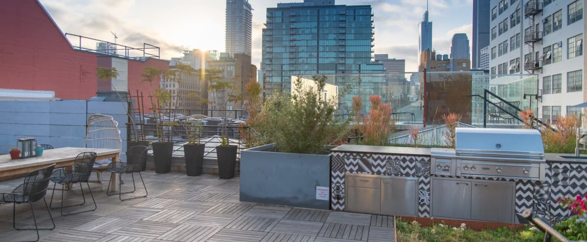 Naturally Lit DTLA Studio with Beautiful Rooftop and Hottub in Los Angeles Hero Image in Central LA, Los Angeles, CA