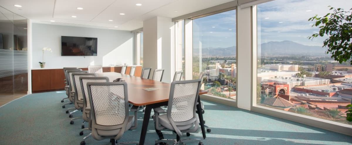 Boardroom in Spectrum Center with Views of Orange County in Irvine Hero Image in Irvine Spectrum Center, Irvine, CA
