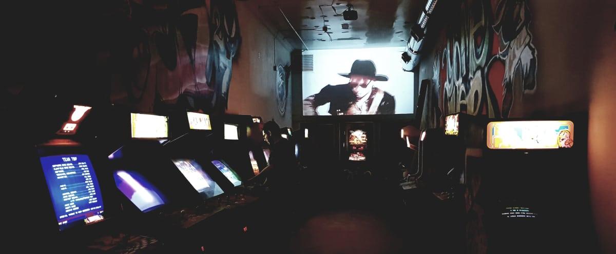 Retro Arcade & Nintendo Lounge Couches in Los Angeles Hero Image in Central LA, Los Angeles, CA