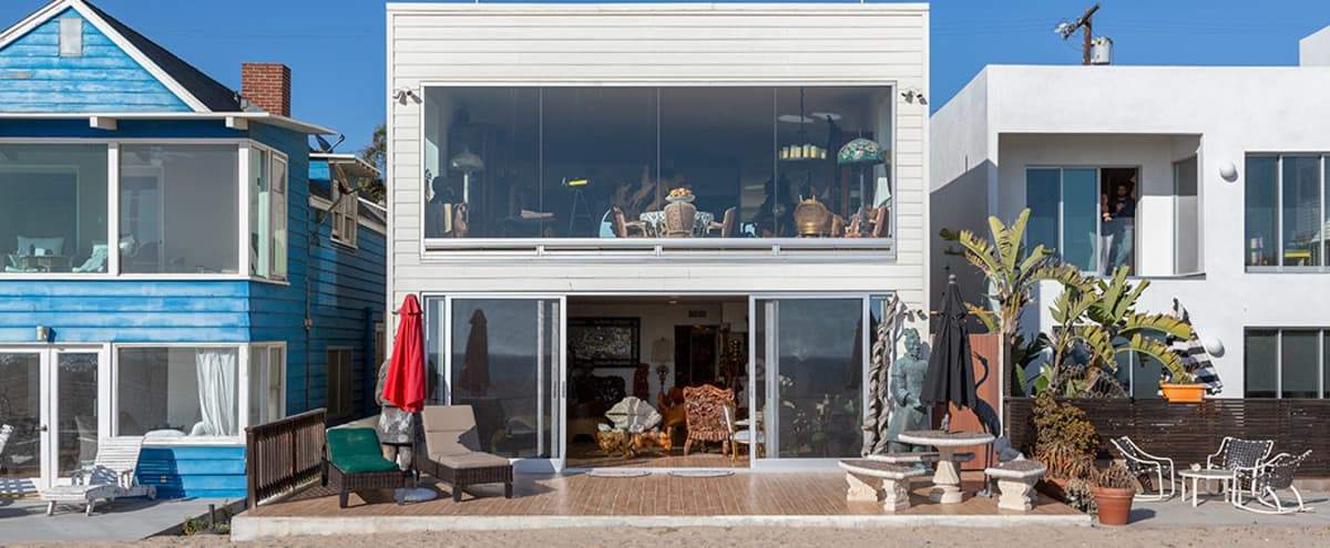Retro Beach Style House in Playa Del Rey Hero Image in Playa Del Rey, Playa Del Rey, CA