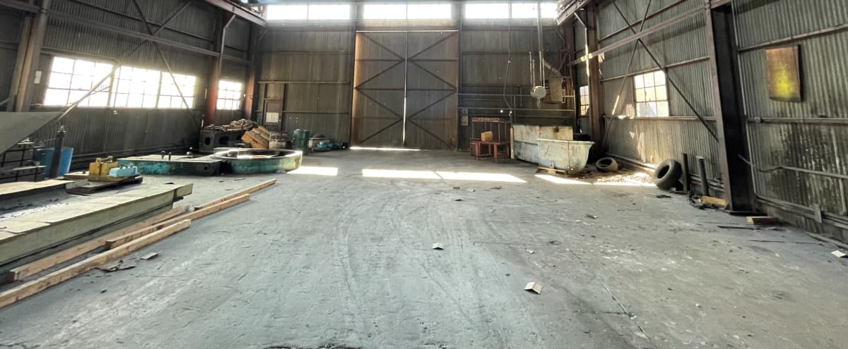 Massive Metal Shop Warehouse Location with Heavy Machinery in Compton Hero Image in undefined, Compton, CA