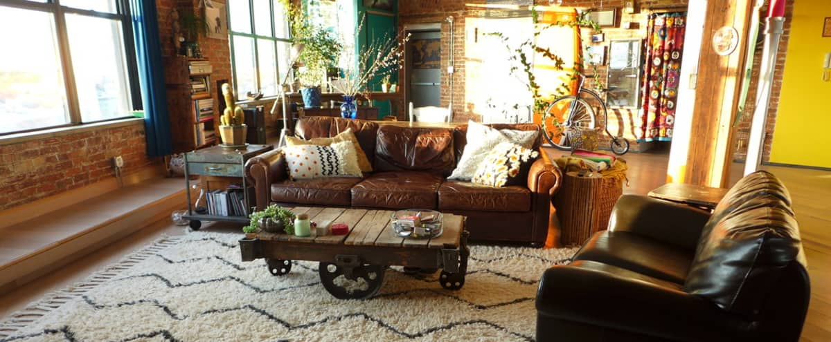 Beautiful Loft with Manhattan Skyline Views in Union City Hero Image in undefined, Union City, NJ