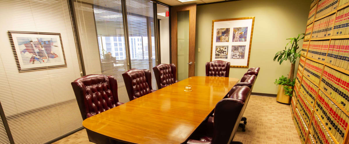 Executive Conference Room - Prime Location in Houston Hero Image in Downtown, Houston, TX