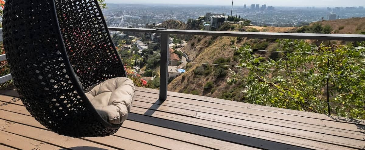 West Hollywood Estate w/ Spectacular Views in Los Angeles Hero Image in Hollywood Hills, Los Angeles, CA
