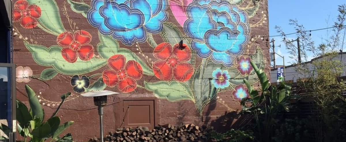 Sunny Garden Patio in SOMA in San Francisco Hero Image in South of Market, San Francisco, CA