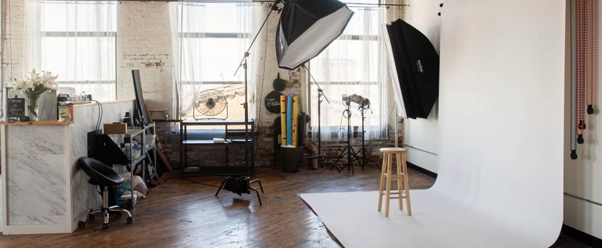 Natural Light and Fully Equip Photo Studio in Philadelphia Hero Image in Harrowgate, Philadelphia, PA