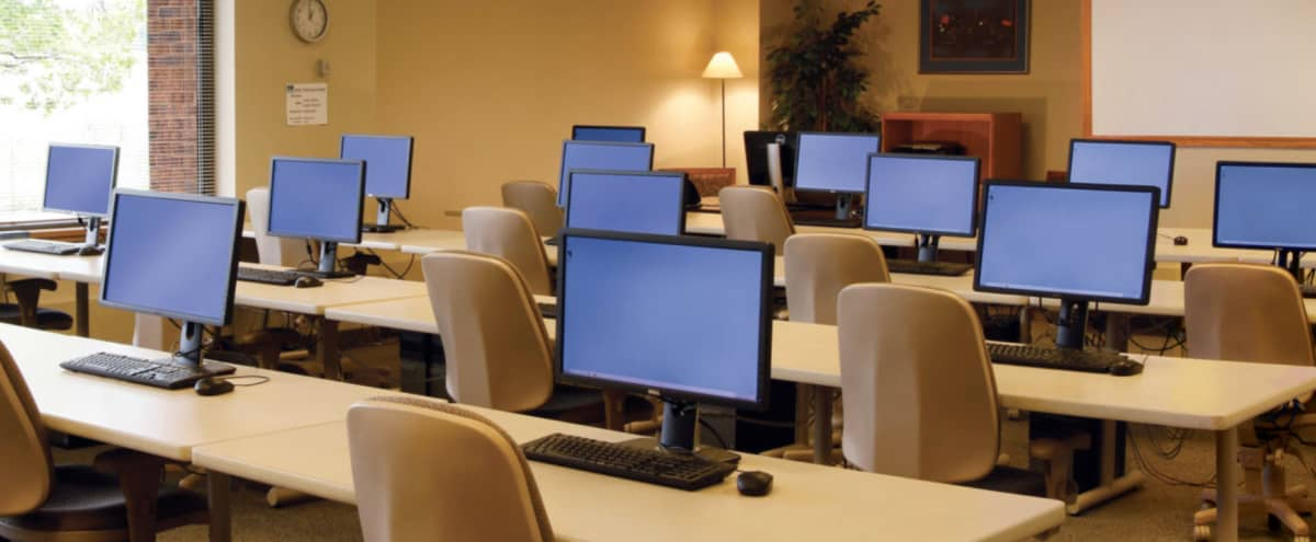 Intimate Computer Lab for Training & Lectures in Saint Paul Hero Image in undefined, Saint Paul, MN