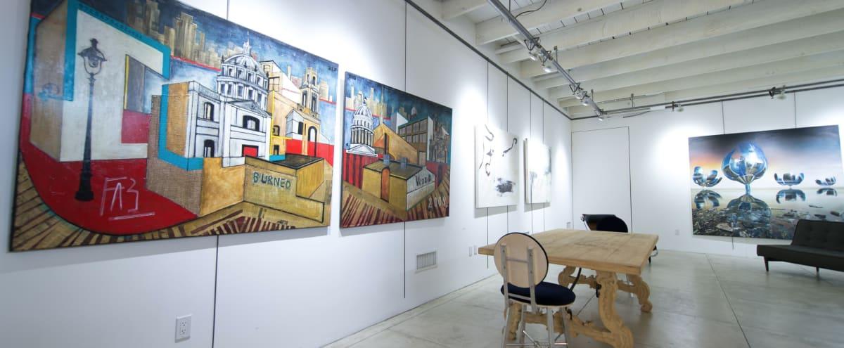 Contemporary Art Gallery with Full Kitchen in Santa Monica Hero Image in Ocean Park, Santa Monica, CA
