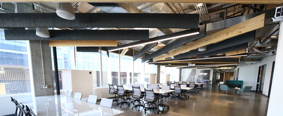 Industrial Event Space at Downtown Tech Campus in Austin Hero Image in Seaholm District, Austin, TX