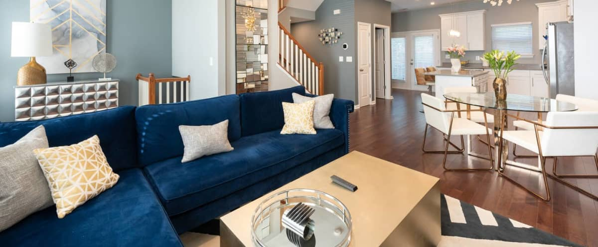 Modern Townhome with natural light in Washington Hero Image in Congress Heights, Washington, DC