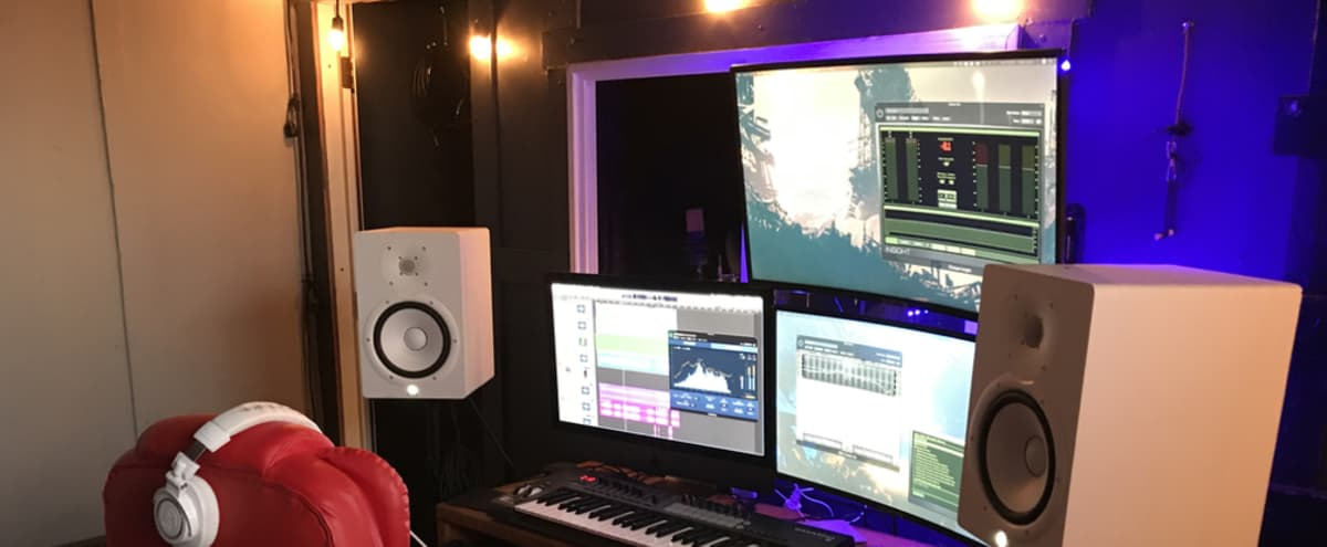 Large Recording Studio with Spacious Booth in North Hollywood Hero Image in North Hollywood, North Hollywood, CA