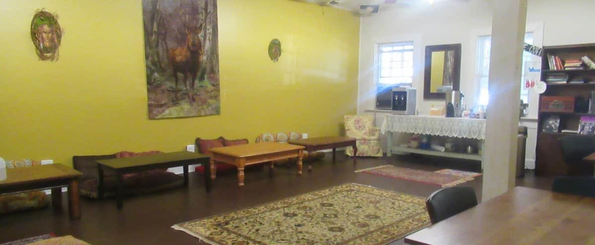 Chill space for intimate workshops & meeting space in Atlanta Hero Image in Candler Park, Atlanta, GA