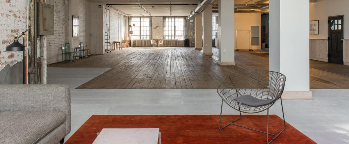 3200 sq/ft Renovated Coffee Roasters for Meetings in Brooklyn Hero Image in Sunset Park, Brooklyn, NY