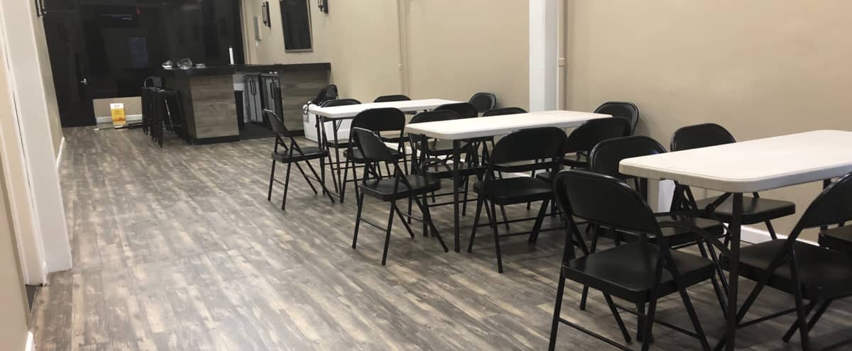 Newly Renovated Event Space with Bar and Backyard (Zip Code Lounge) in Brooklyn Hero Image in East Flatbush, Brooklyn, NY