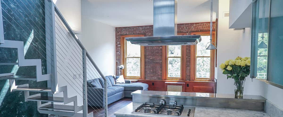 Spacious, Sunny Penthouse Loft With Terrace in New York Hero Image in Upper West Side, New York, NY