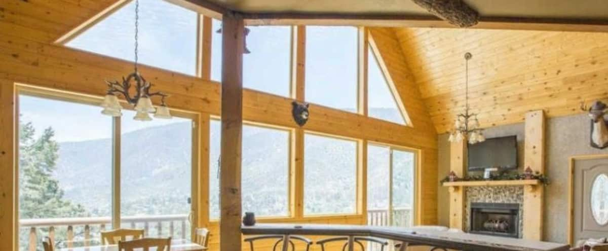 Modern Mountain Cabin in Frazier Park Hero Image in undefined, Frazier Park, CA