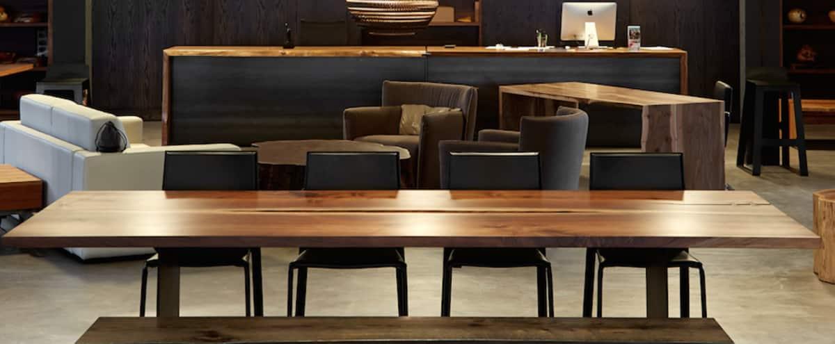 Modern Hardwood Furniture Showroom in Seattle Hero Image in Downtown, Seattle, WA