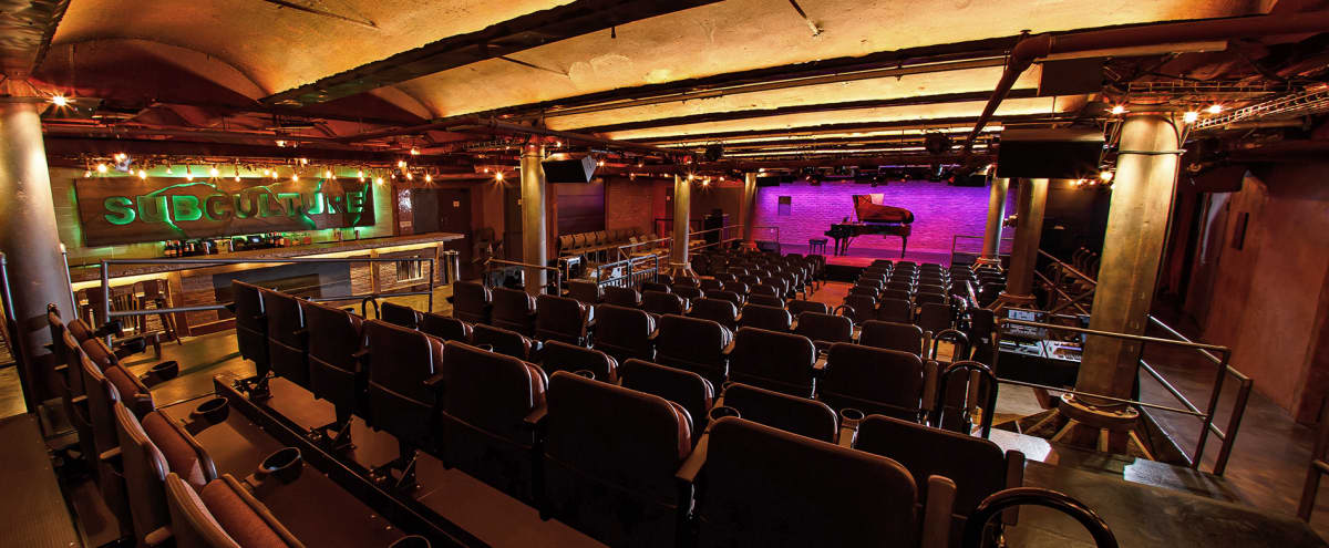Spacious Theatre Event Space in Historic NOHO in New York Hero Image in Lower Manhattan, New York, NY