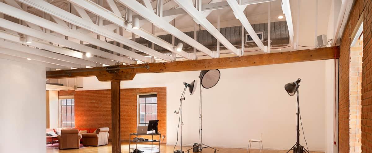 Huge Industrial Studio with Downtown Views in Dallas Hero Image in Cedar Crest, Dallas, TX