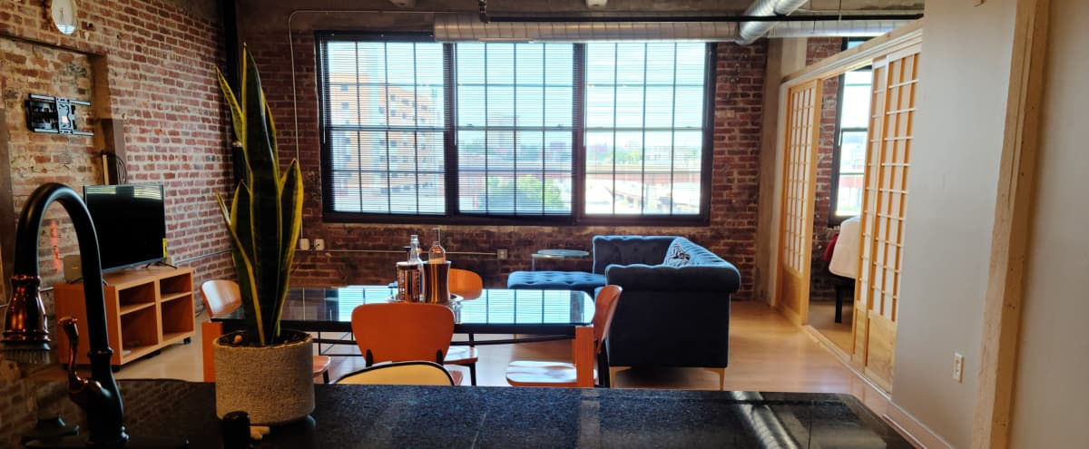Trendy Downtown Industrial Loft in Baltimore Hero Image in Downtown, Baltimore, MD