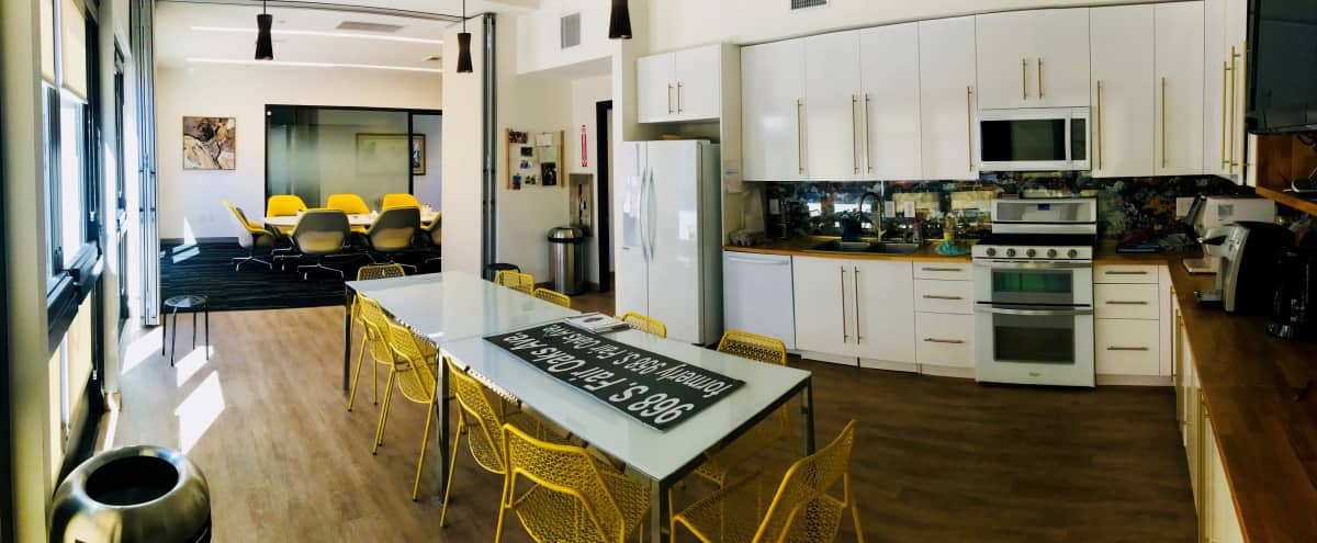 Elegant Off-Site Venue: Spacious Conference Room, Kitchen, Beautiful Patio & Free Parking in Pasadena Hero Image in undefined, Pasadena, CA