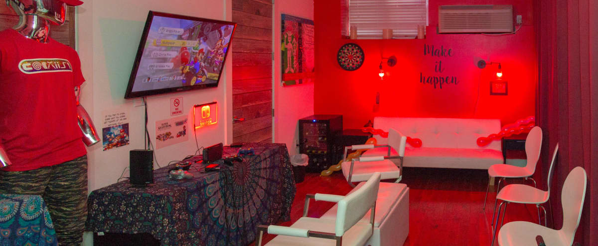 Game Lounge for the WIN! in Brooklyn Hero Image in Bushwick, Brooklyn, NY