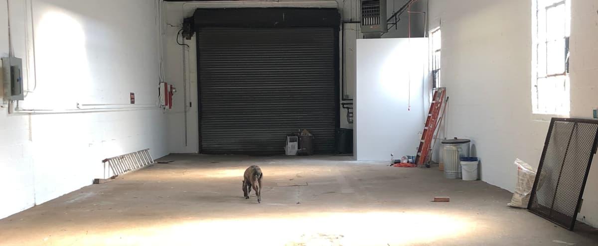 Open Red Hook Industrial Warehouse W Skylight Roll Down Gate
