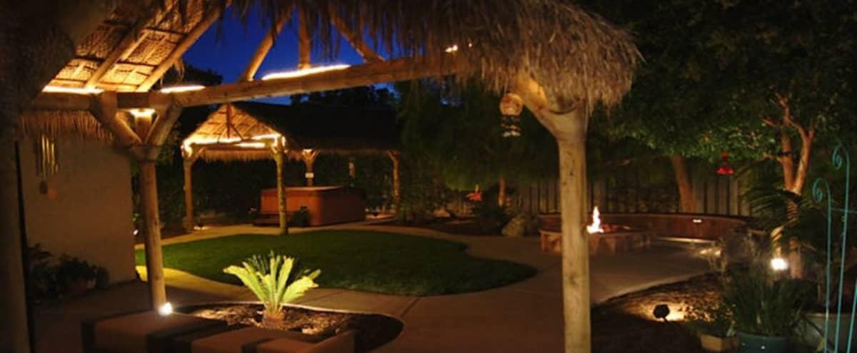 Romantic Indoor/Outdoor Venue in Downtown Campbell in Campbell Hero Image in Downtown, Campbell, CA