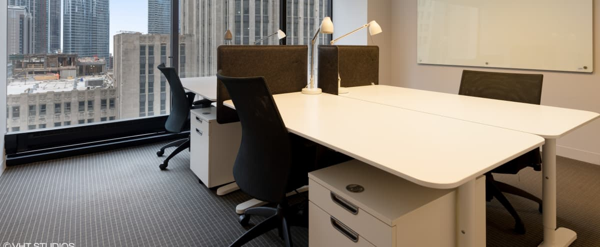 Private Executive Office with Michigan Ave Views in Chicago Hero Image in Magnificent Mile, Chicago, IL