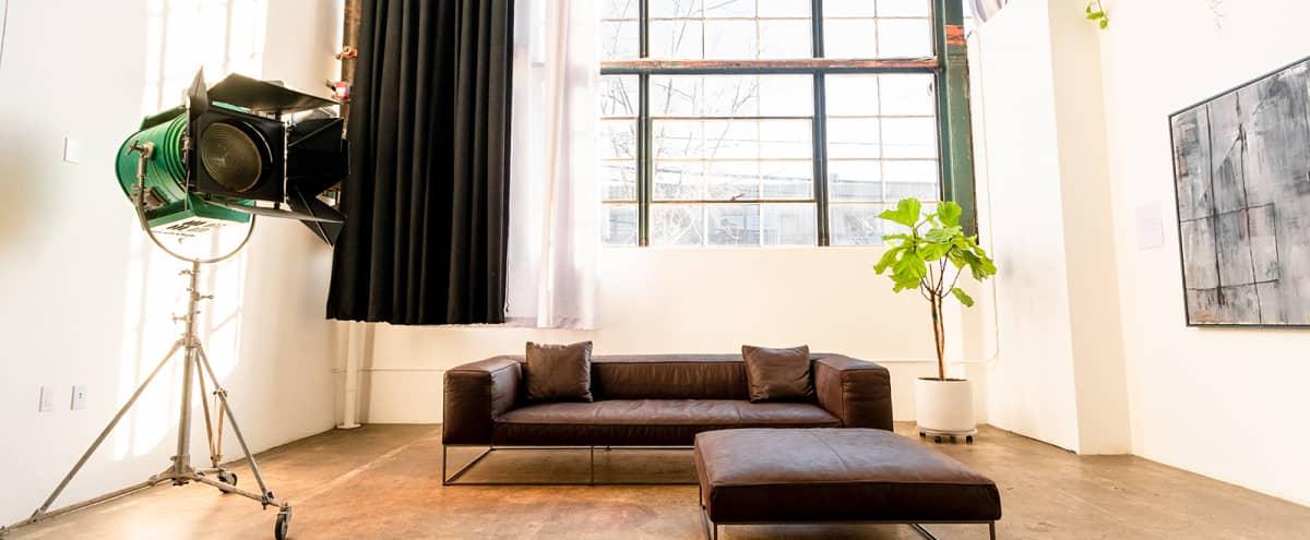 Curated Lounge with Vintage Furniture and Art in Berkeley Hero Image in Southwest Berkeley, Berkeley, CA