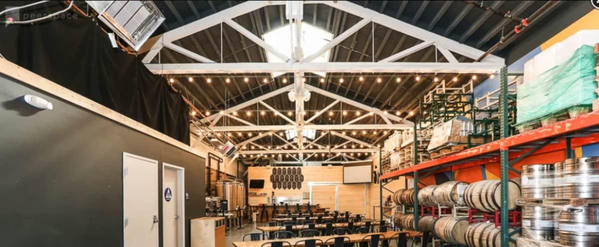 Present in Geometric Industrial Brewery Tastingroom in San Francisco Hero Image in Bayview, San Francisco, CA