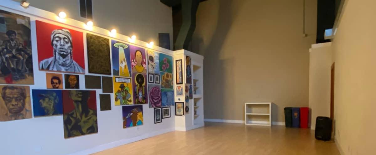 Art Gallery in Spacious Loft by Lake Merritt in Oakland Hero Image in Downtown Oakland, Oakland, CA