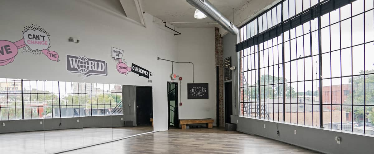 Rooms: Beautiful Industrial Lofted Event Space For Photo And